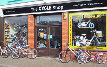The Cycle Shop, March, Cambridgeshire